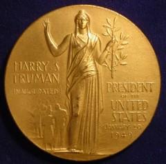 1949 Truman Inaugural Medal reverse