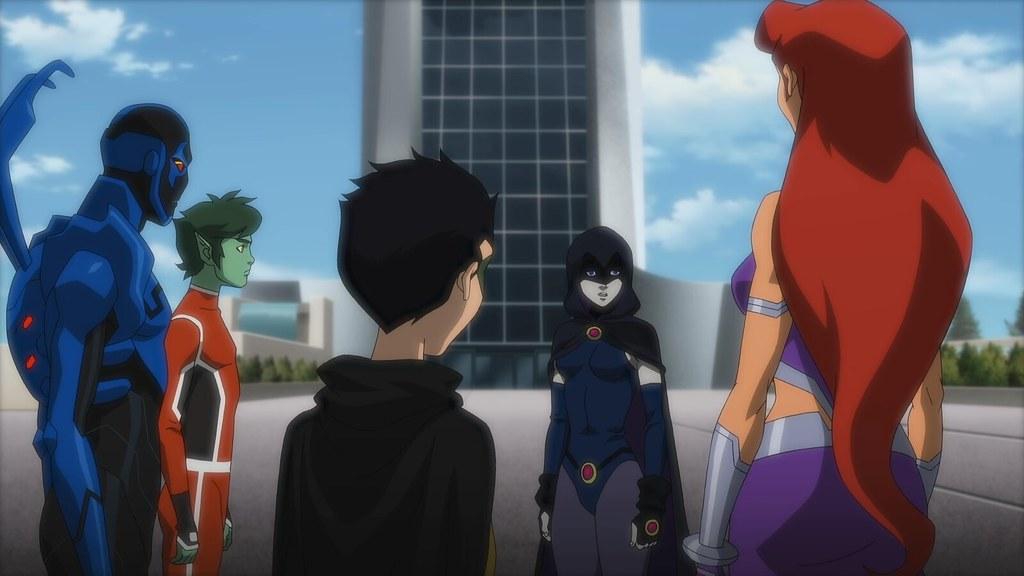 Justice League Vs Teen Titans  Solidsmax   Flickr-7345