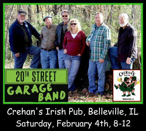 20th Street Garage Band 2-4-17