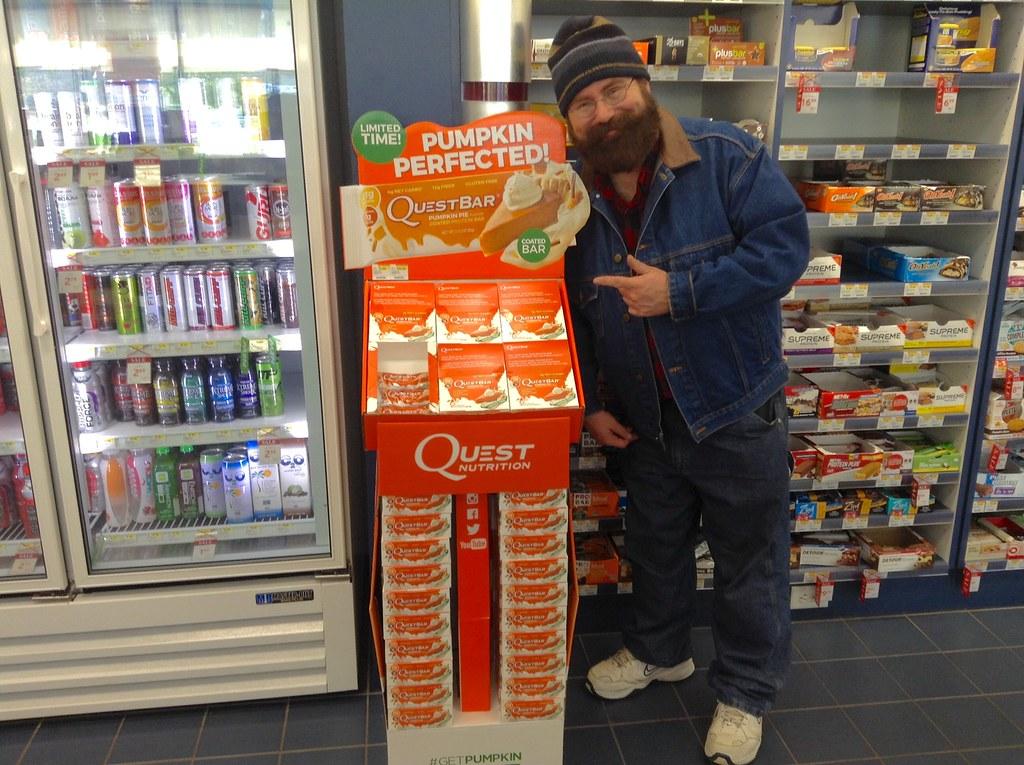 Pumpkin Spice Quest Bars At Vitamin Shoppe 10 2015 Pic Flickr