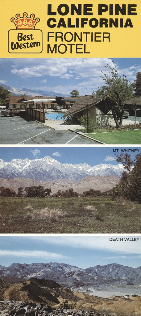 Frontier Motel - Lone Pine, California