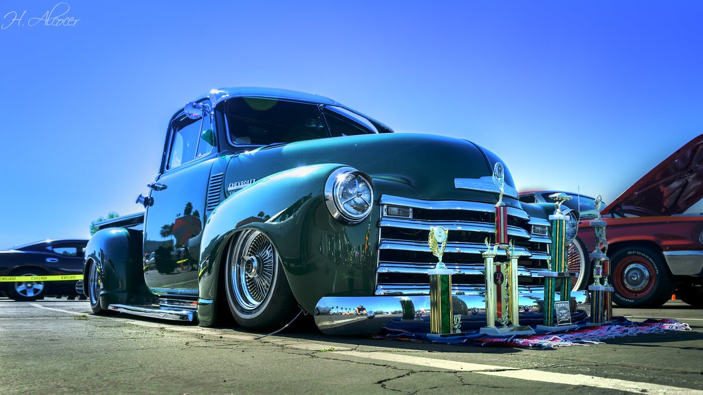 The Green Chevy!   Alcocer   Flickr