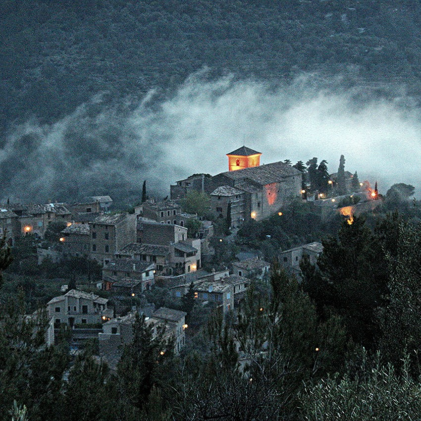 Deià at dusk - Mallorca
