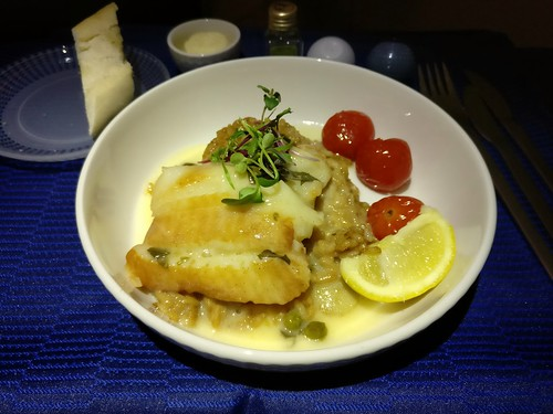 Seared Turbot