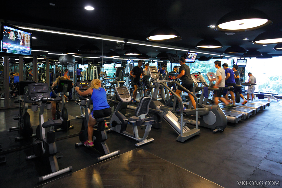 Grand Mecure Hotel Gym