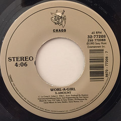 WORL-A-GIRL:JAMAICAN BOBSLEDDING CHANT(LABEL SIDE-B)