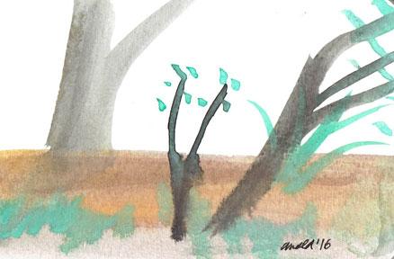 10.8.16 - Tiny Landscape