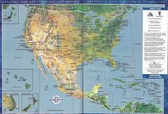 American North America Cities Map The American Airli Flickr - North america cities map