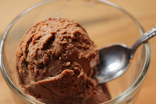 Double Chocolate Peanut Butter Ice Cream