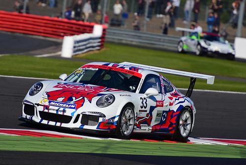 John McCullagh, Porsche Carrera Cup GB, Silverstone 2015