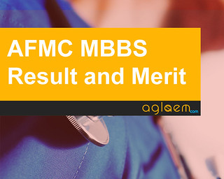AFMC MBBS Admission 2016 Result & Merit List