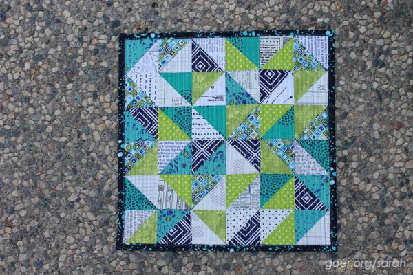 Sew My Stash Mini Quilt Swap Sarah Goer Quilts