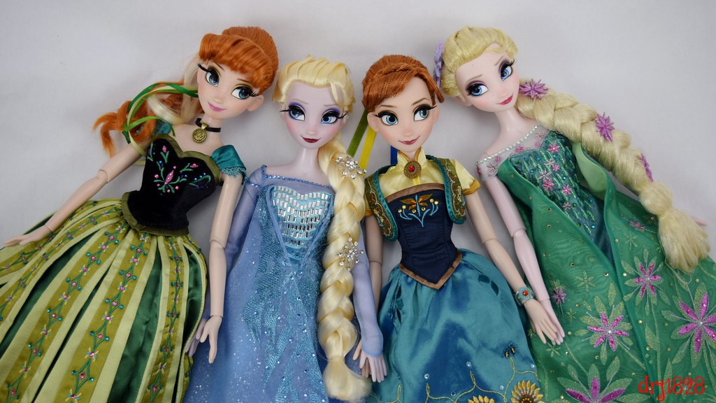 anna and elsa put their heads together 2013 le 2500 anna flickr. Black Bedroom Furniture Sets. Home Design Ideas