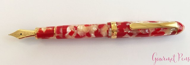 Review Platinum 3776 Celluloid Koi Fountain Pen @AndersonPens @CarolLuxury 7