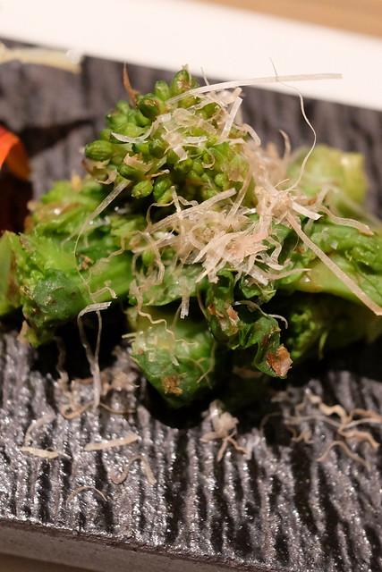 生彩八寸 季節の前菜 菜の花の土佐ジュレ和え