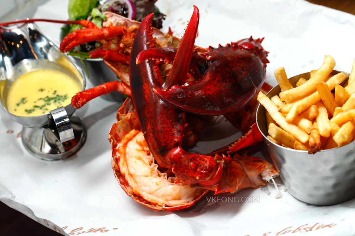 Burger & Lobster Steamed Lobster