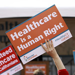 Rally launches Healthy California Campaign to Win S.B. 562 - Healthcare for all California Residents