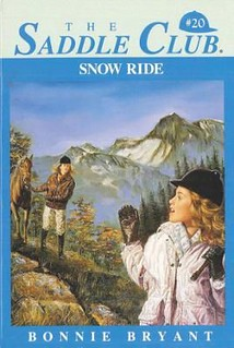 Snow Ride (Saddle Club #20) by Bonnie Bryant