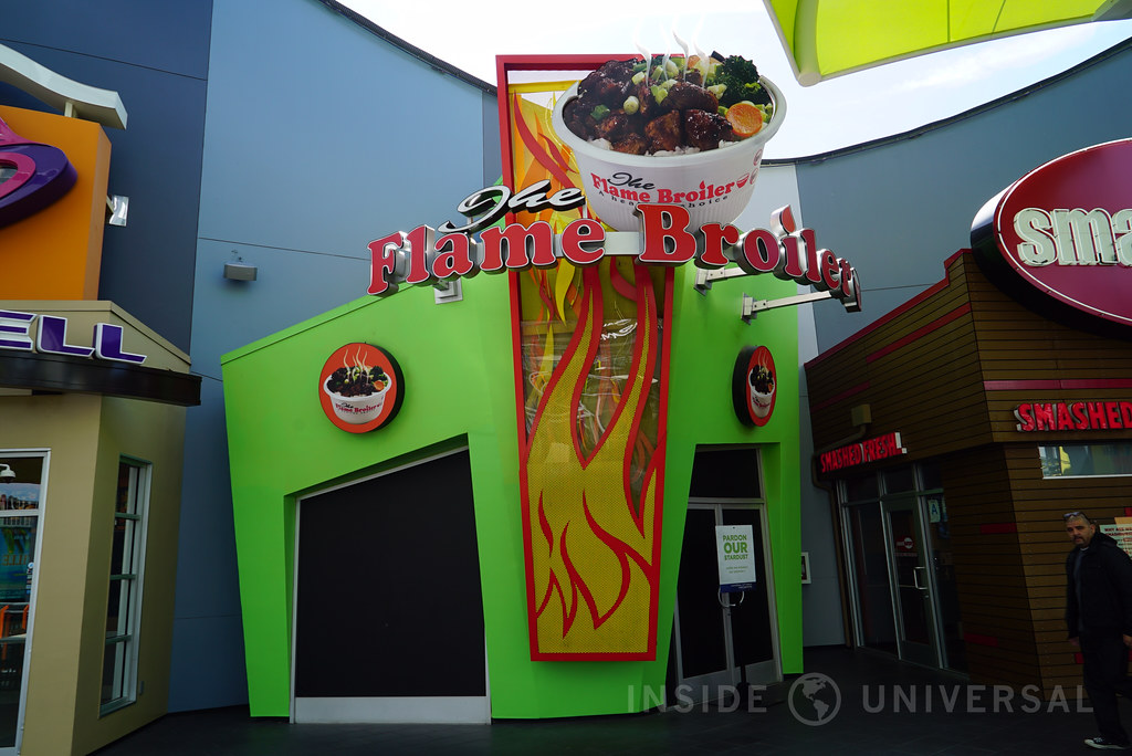 Article: Flame Broiler at CityWalk Hollywood has closed