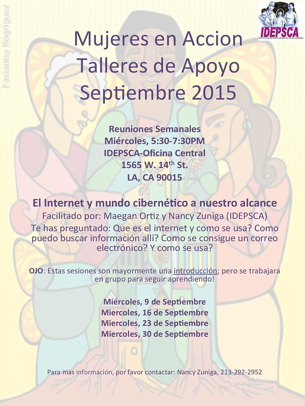 Mujeres en Accion Talleres-Sept 2015-page-001 | by IDEPSCA1