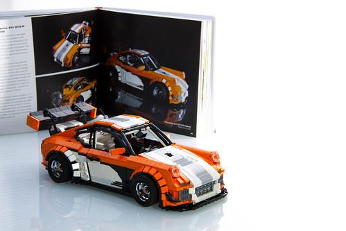 lego porsche 911 gt3 r hybrid in art of lego scale modelin. Black Bedroom Furniture Sets. Home Design Ideas