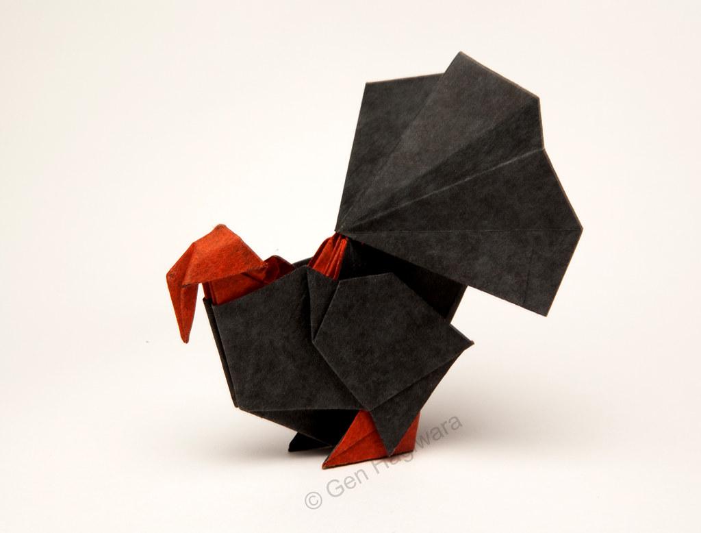 Turkey By Gen Hagiwara Spirits Of Origami By Gen Hagiwara Flickr