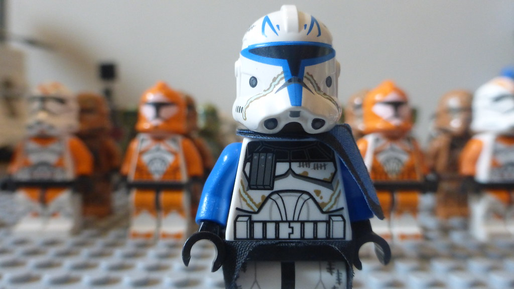 LEGO Clone Army 2015: Captain Rex | Captain Rex lesing my LE… | Flickr