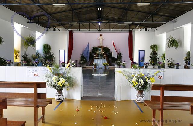 Ceansg decorado para a Festa de Oxum - 08/12/2016
