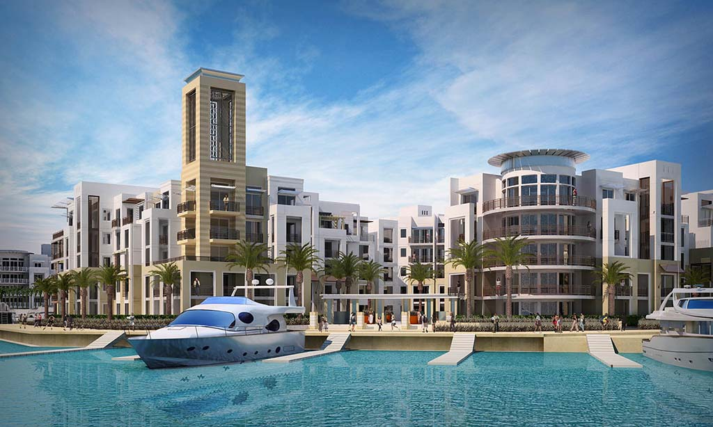 The Most Creative Minecraft Replicas Of Real Life Constructions & Buildings: Marassi Marina Residences