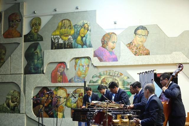 Nuevas tendencias y tradición se fusionan en tercer concierto del Primer Festival Internacional de Marimba