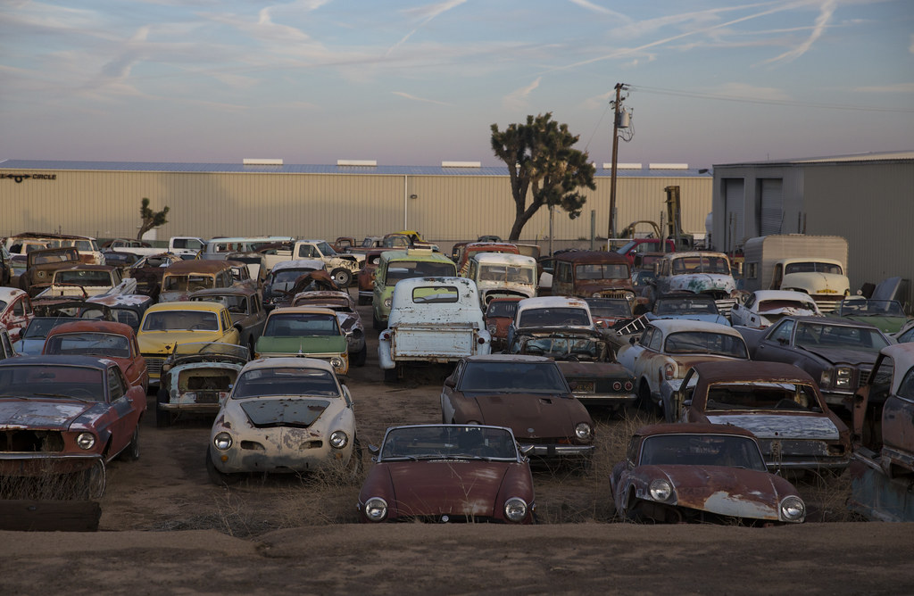 Awesome junkyard in Yucca Valley, CA | The Brothers\' Towing … | Flickr
