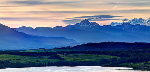 Photographer Curtis Cunningham - blue sunrise