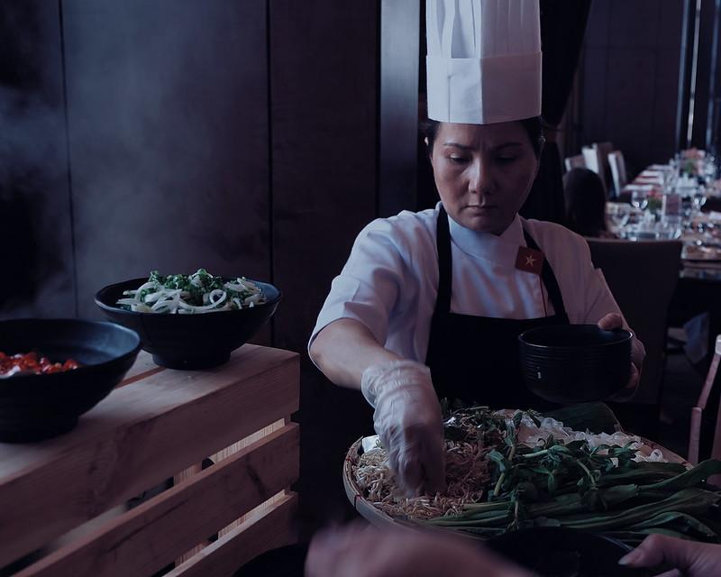 crimson hotel buffet vietnam cuisine