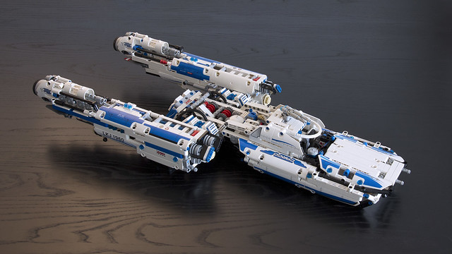 Technic Y-wing, by Joe Gan, on Flickr