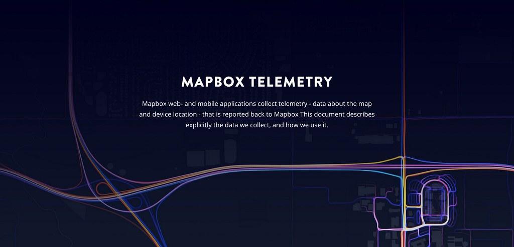 Telemetry   Mapbox