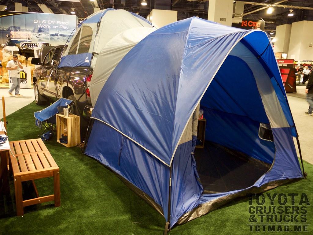 Tundra Bed tent- SEMA 2015 Toyota