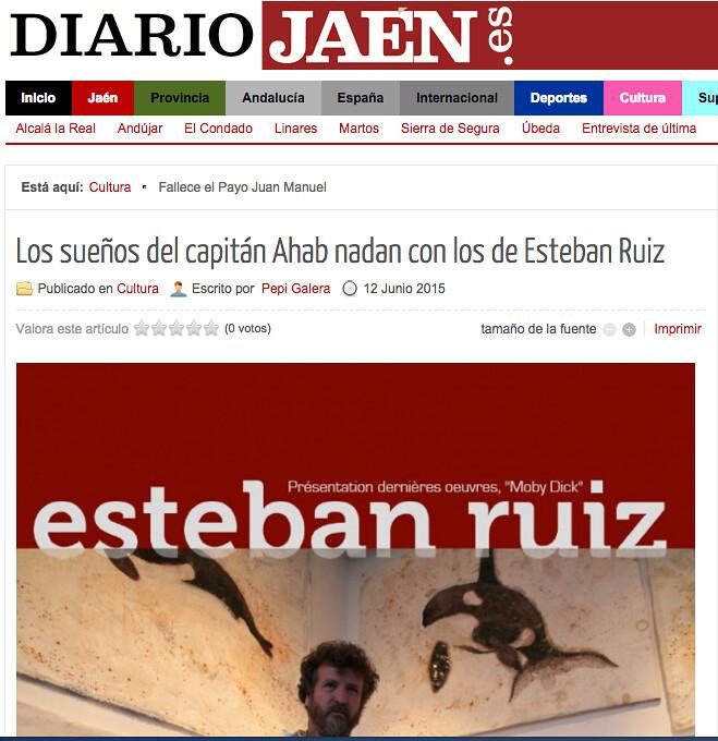 Moby Dick Diario Jaen Esteban Ruiz