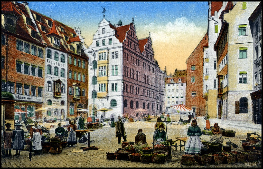 Nürnberg - Obstmarkt ~1894 Johann Wolf - Werkzeuge, Geschi…   Flickr