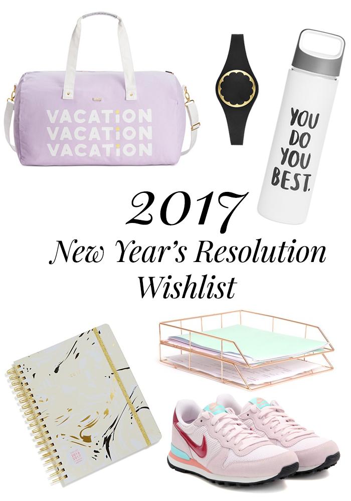 2017 resolution wishlist