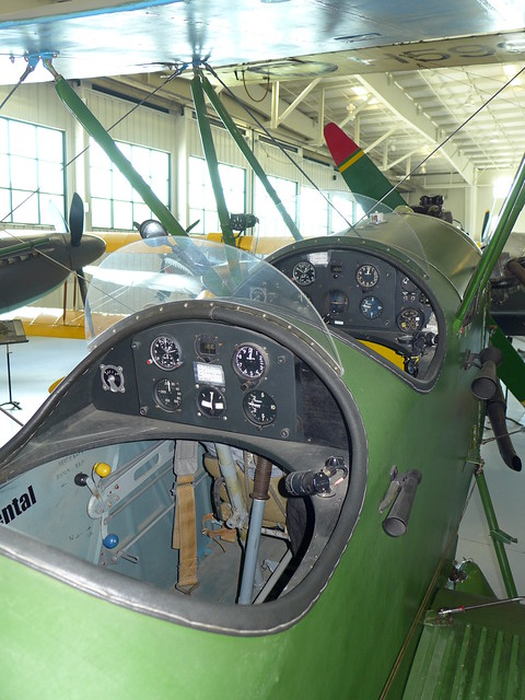 Flight instruments: Polikarpov Po-2 Mule