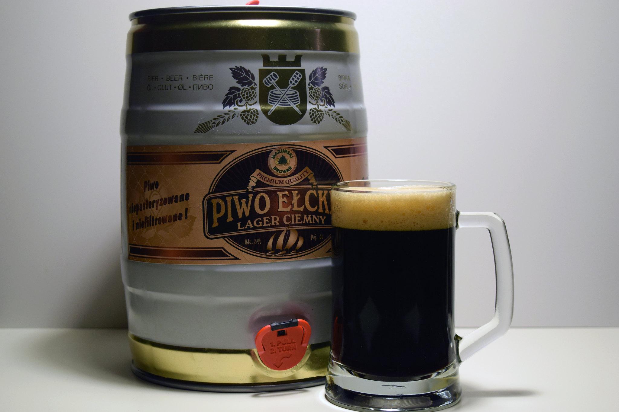 ełckie ciemny lager
