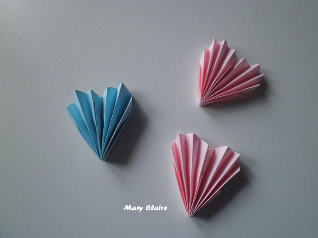 cuori rosa e azzurri