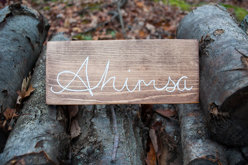Ahimsa Sign by Mandalas by Ariell on Etsy