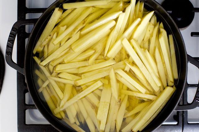 冷油几乎不能覆盖土豆