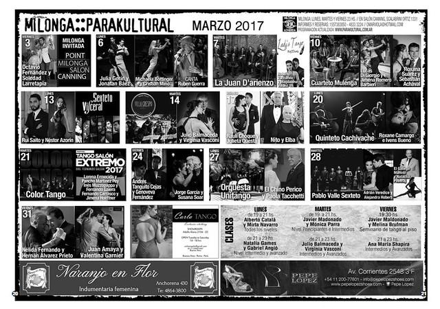 Revista Punto Tango 125 de Marzo 2017 - 11