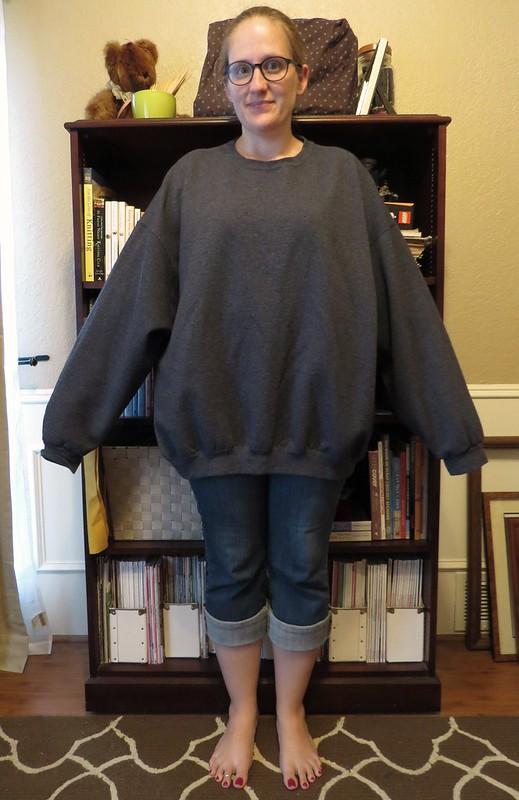 Sweatshirt Refit - Before