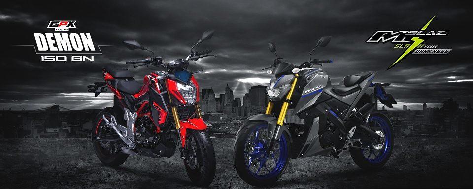 GPX Demon 150 GN vs Yamaha M-Slaz boiling couple of