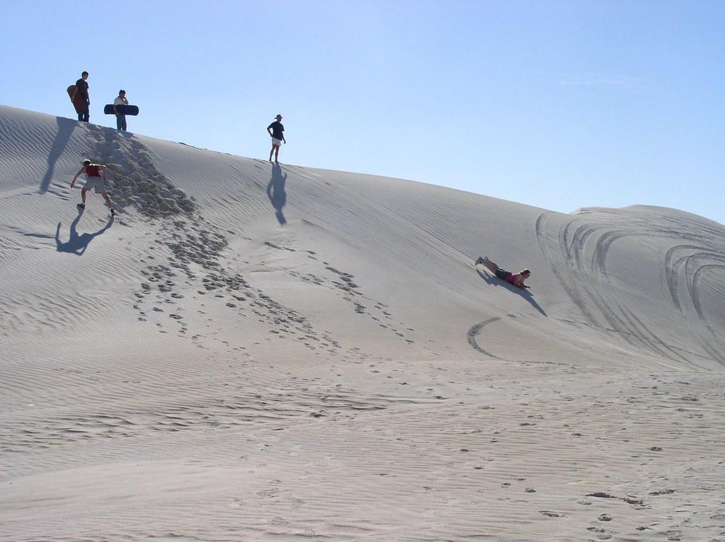 Lancelin. Sand dunes in Western Australia near the Pinnacles National Park. .