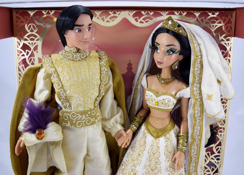 Limited Edition Aladdin and Jasmine 17\'\' Wedding Doll Set … | Flickr