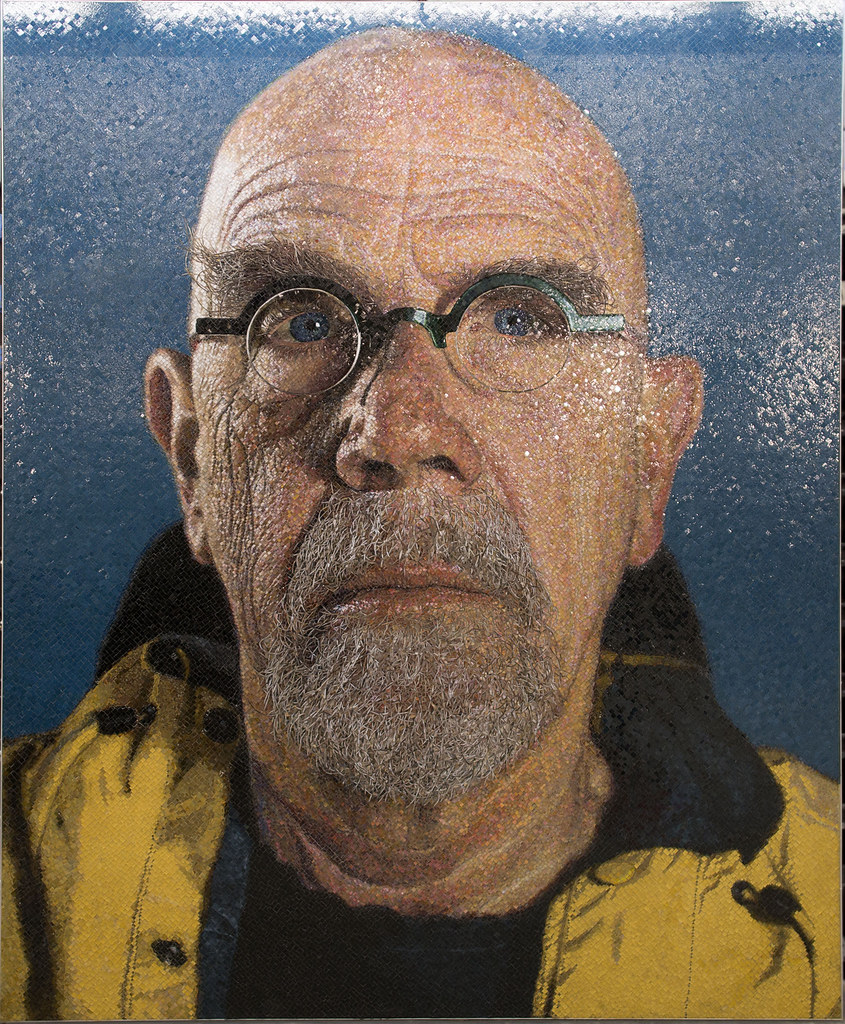 Artist Chuck Close Paintings
